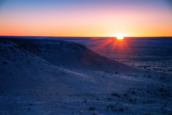 Sunrise Over Comanche National Grasslands - Colorado fine-art photography prints