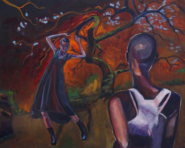 Meet Me At The Dancing Tree Art | jillalthousewood