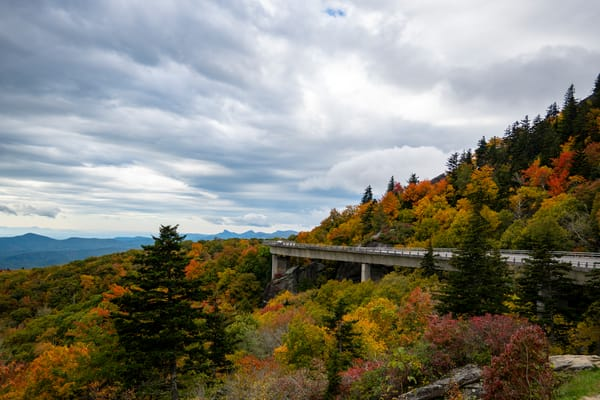 Linn Cove Viaduct Autumn 2021