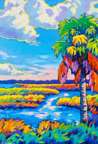 Summer Marsh Art | Sally C. Evans Fine Art