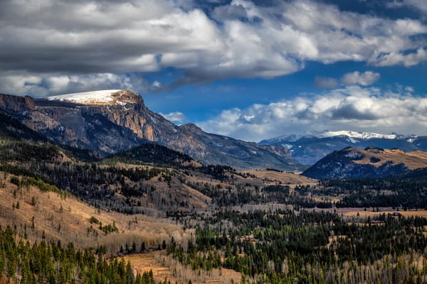 Snow-capped Bristol Head - Colorado fine-art photography prints