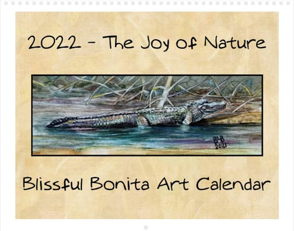 The Joy Of Nature 2022 Blissful Bonita Art Calendar   Blissful Bonita Art Studio & Gallery
