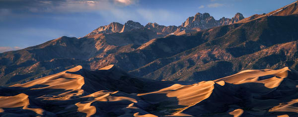 Evening at the Great Sand Dunes National Park - Colorado fine-art photography prints