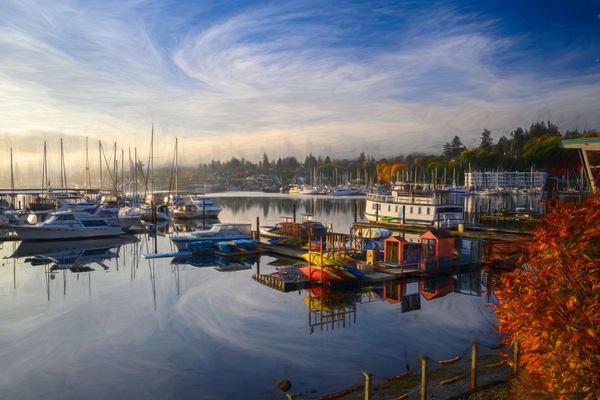 Gig Harbor Fall Morning