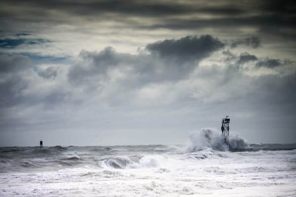 Angry Atlantic Photography Art | Silver Sun Photography