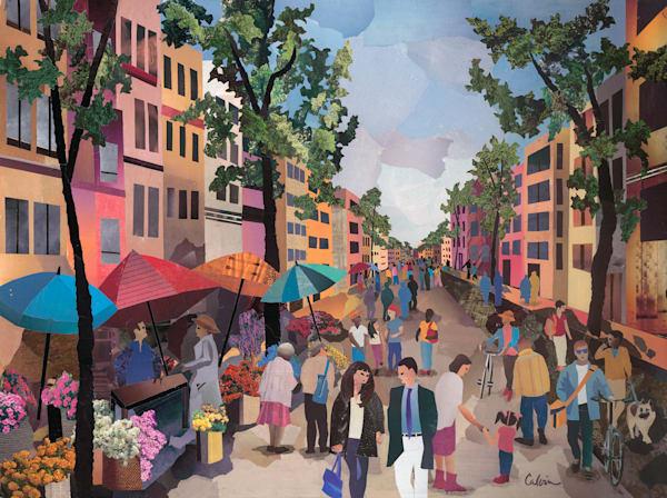 La Rambla, Barcelona Art | SCRAPScollage