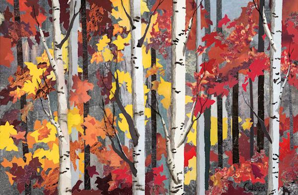 Fall's Fire Art | SCRAPScollage