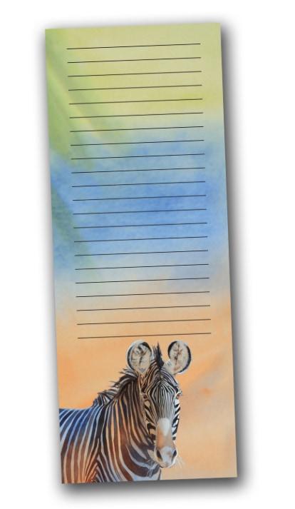 Zebra Animals Notepad