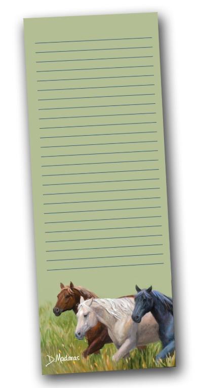 Breakfast Club Green Notepad