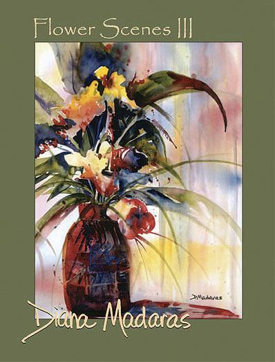 Flower Scenes III by Diana Madaras | Notecards
