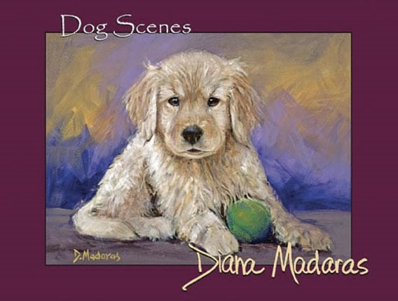 Dog Scenes by Diana Madaras | Notecards