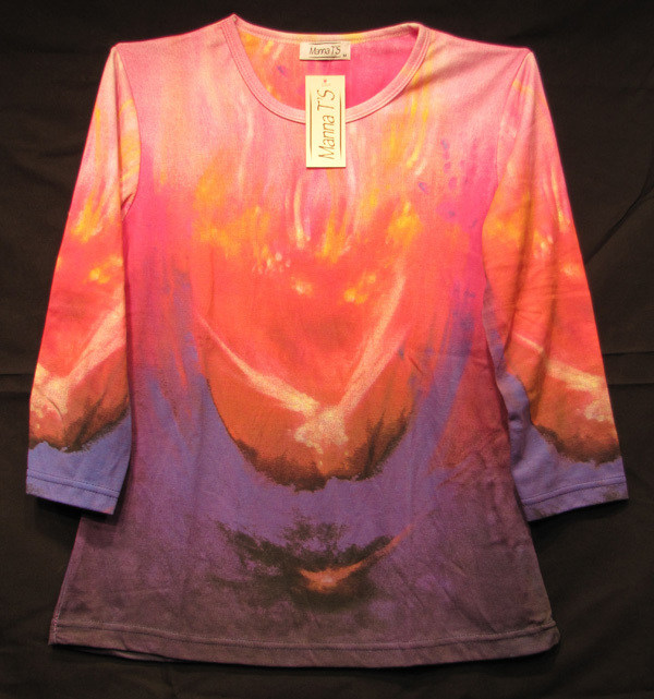 """Arise"" Ladies Shirt by Kevin Moffatt"