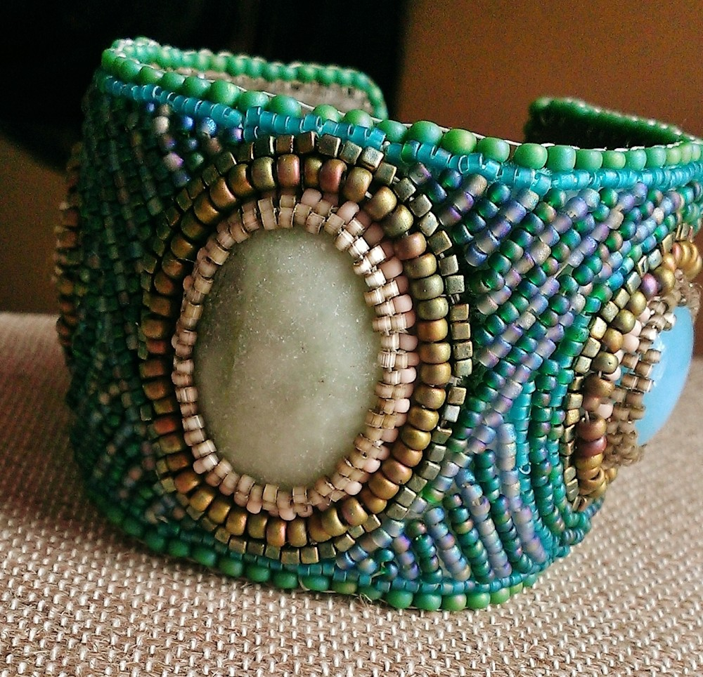 Waves Cuff : Living Water Collection by Kathryn Lane Berkowitz