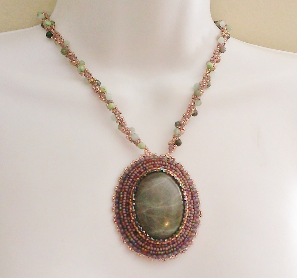 Oceans Necklace: Living Waters Collection by Kathryn Lane Berkowitz