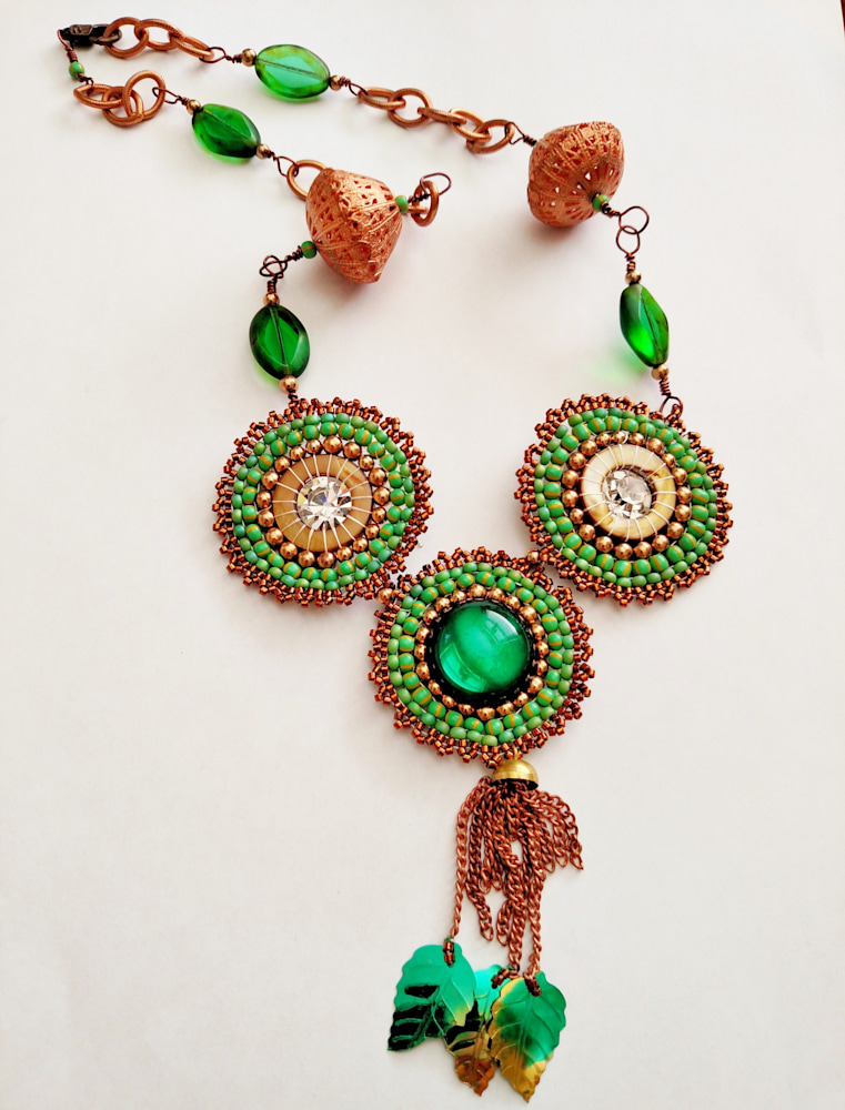 Miriam's Necklace: Out Of Egypt Collection by Katryn Lane Berkowitz