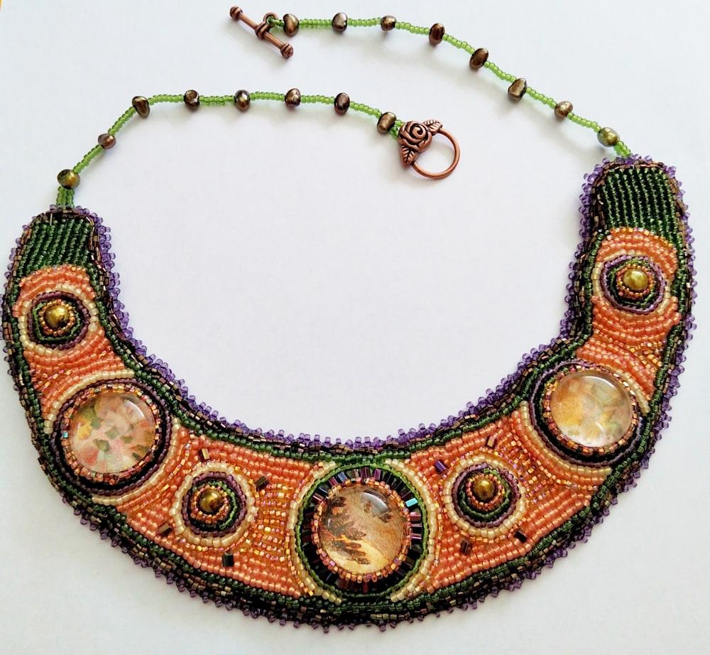 The Vineyard Collar: The Vineyard Collar Collection by-Kathryn Lane Berkowitz