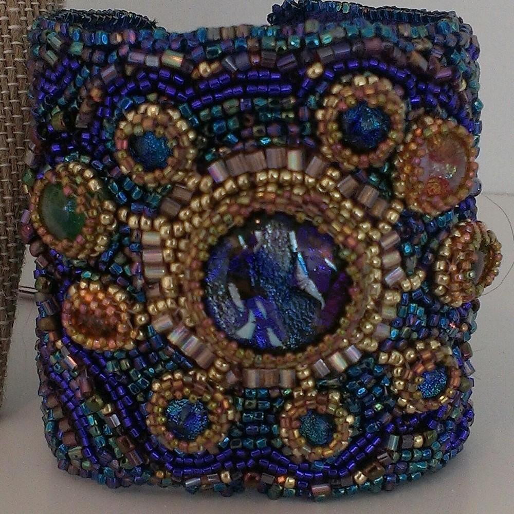 Cosmic Cuff: Celestial Collection by Kathryn Lane Berkowitz
