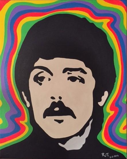 Paul McCartney Acrylic