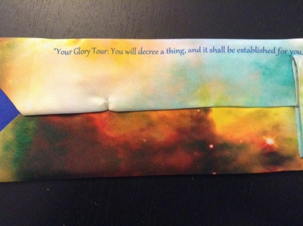Your Glory Tour Men's 100% Silk Tie by Cydney Mariel Galbraith