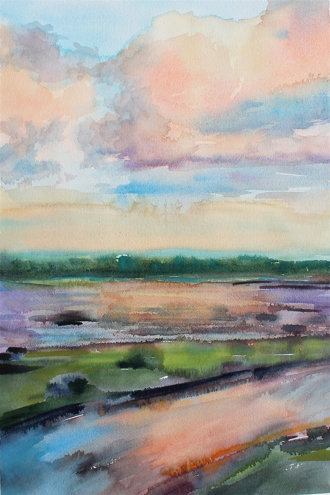 Marsh-Landing-12-X18-Watercolor-Orig-ybudr8