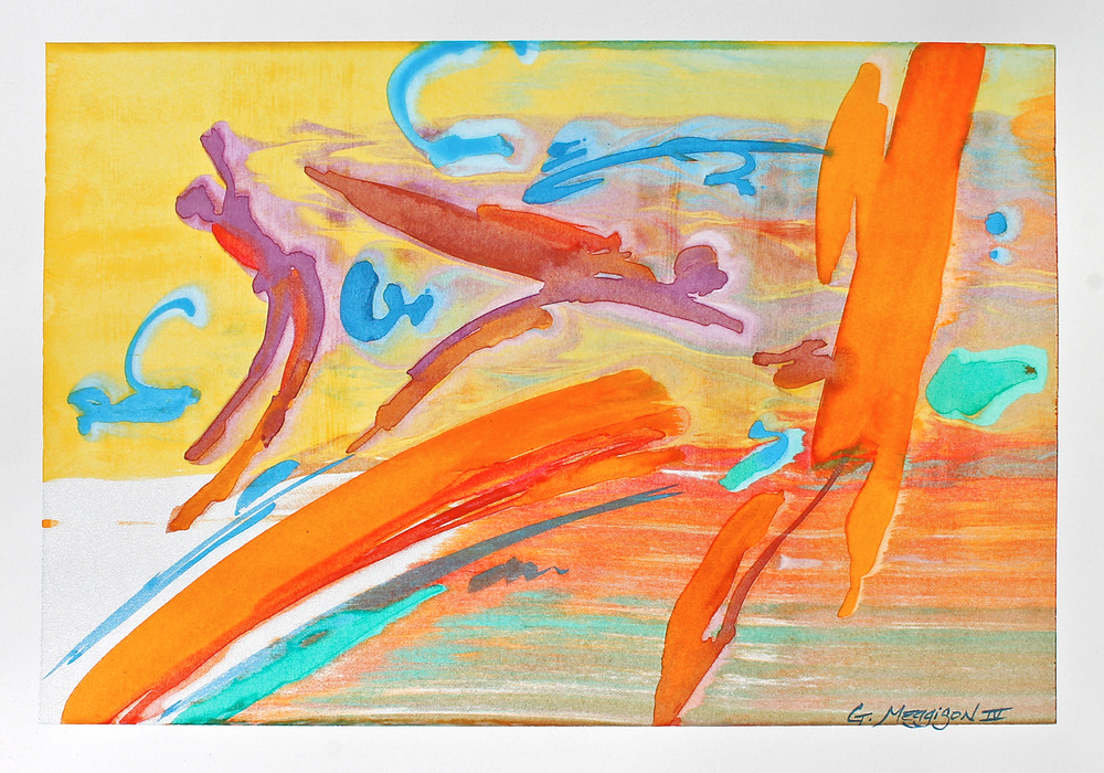 First-Flight-14-X20-Watercolor-Orig-iqg1as