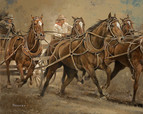 stagecoach-bill-moomey-oil-painting