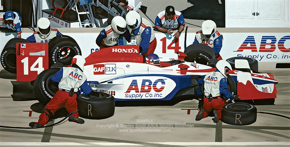 AJ Foyt Racing | Indy Car | Art Prints & Paintings For Sale