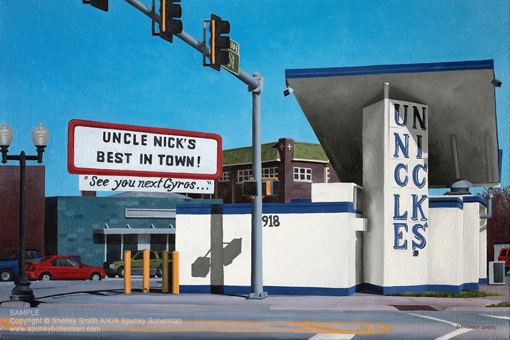 Uncle Nick | Rockford | Illinois | Fine Art Prints & Original Painting