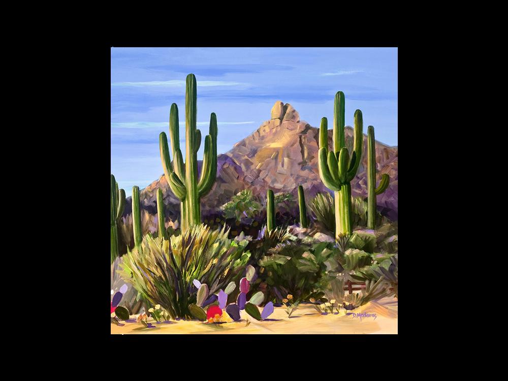 First Light Glass Trivet | Arizona