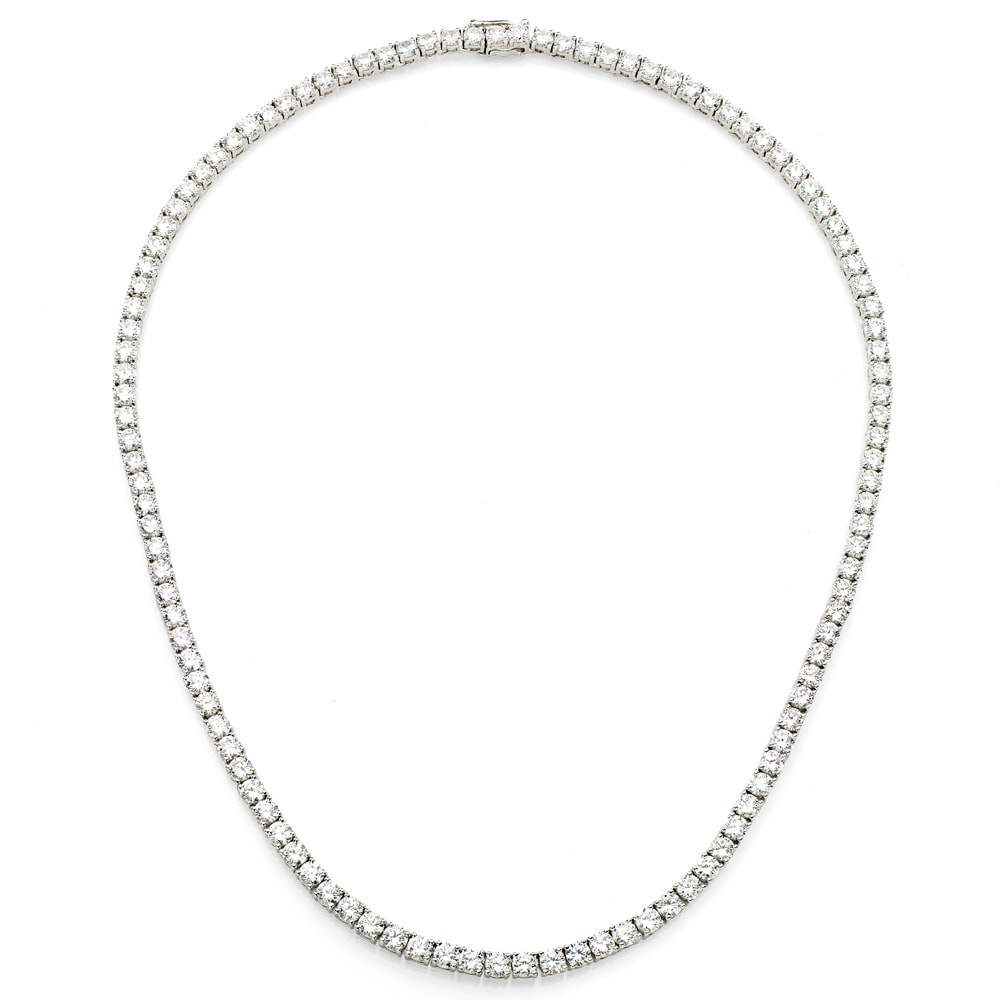 Beautiful Classic Tennis Necklace Jewelry