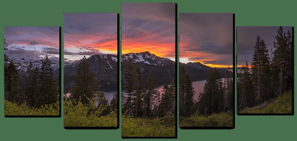 blinding-light-5-piece-canvas-plniys