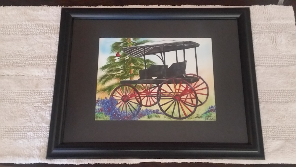 Timeless Treasures From Memories of the Past--Framed