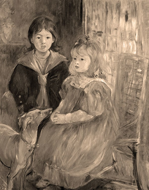 Children-of-Gabriel-Thomas-by-Morisot-sepia-jw9osw