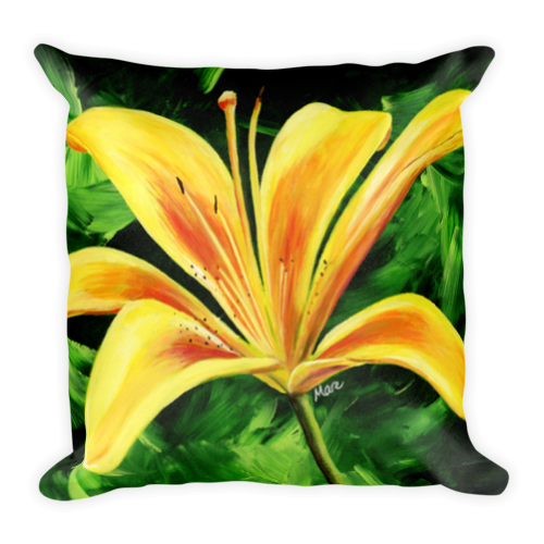 Day-Lily-Square-Pillow-18x18-ll57zc