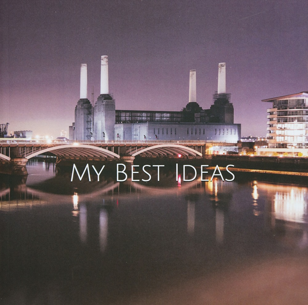 Large Writing Journal | Battersea Power Station Cover