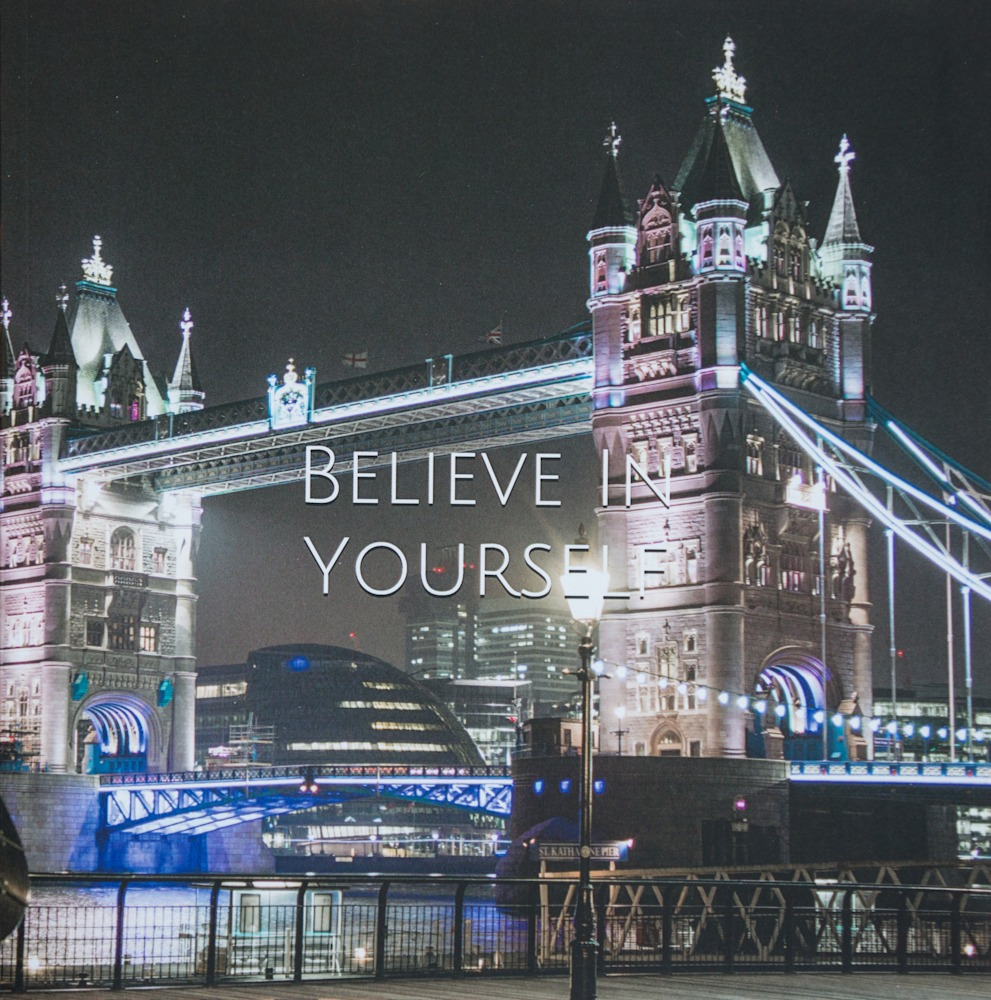 Large Writing Journal | Tower Bridge Cover