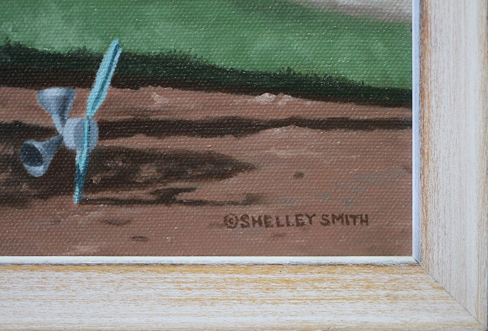 Roadside Attraction   Fine Art Painting and Prints   Shelley Smith Signature