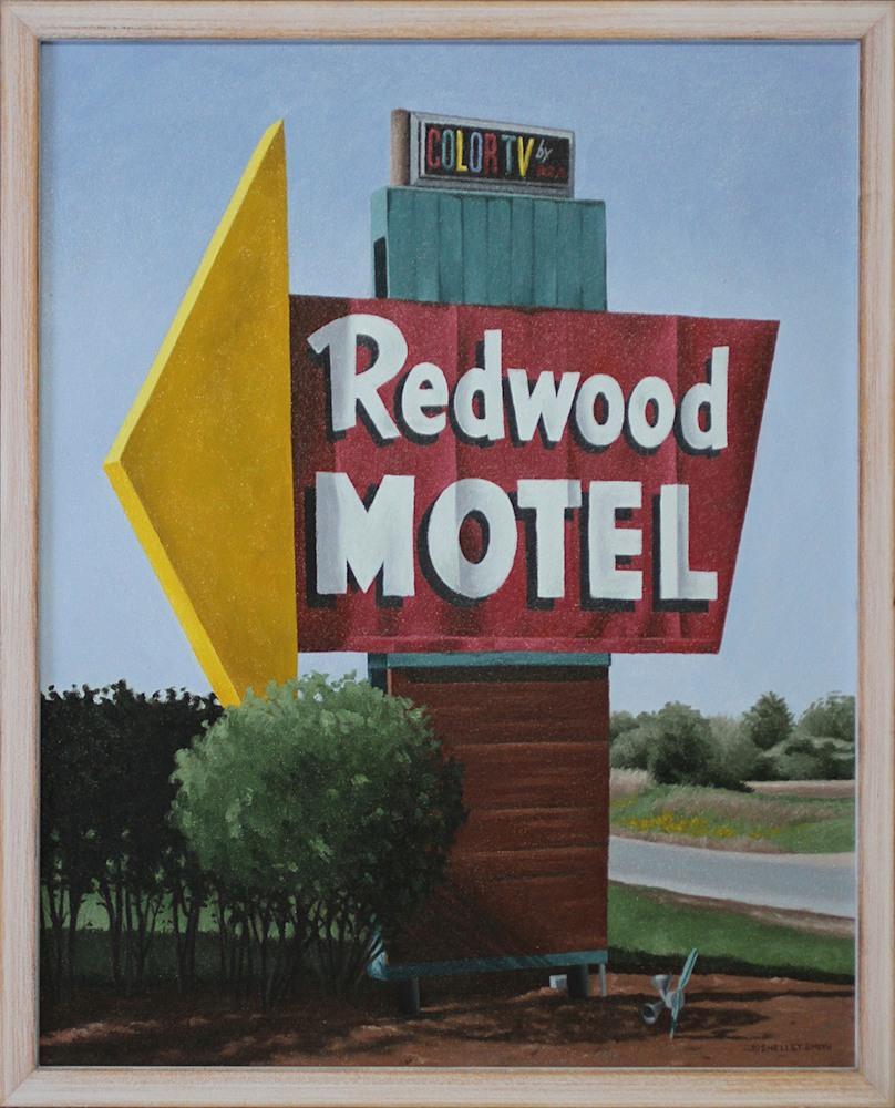 Roadside Attraction   Art   Original Oil Painting