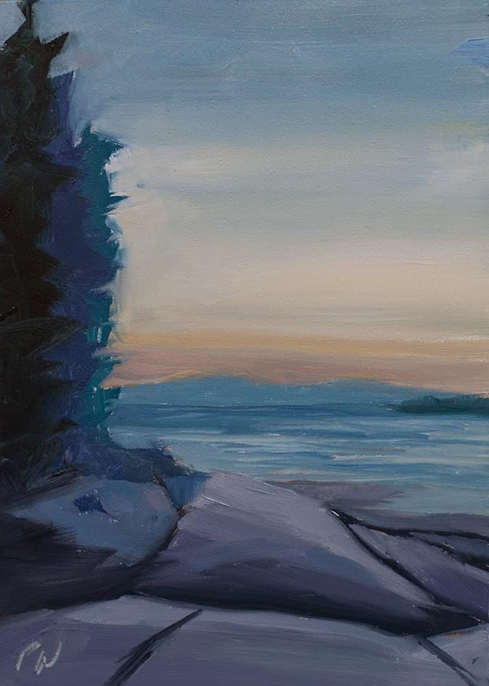 Swans-Island-Sunset-by-paul-william-art-cmvix3