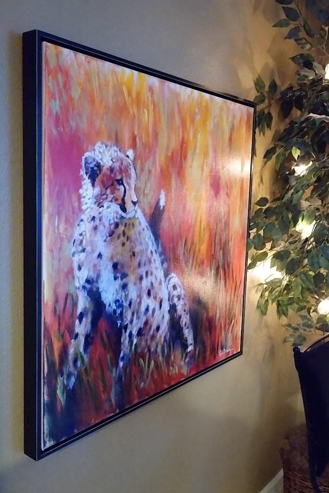 cheetah-frame-wall-saatchi-hb7dsy