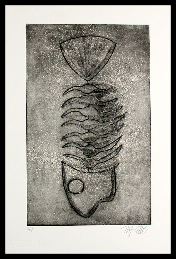 Fish-2-framed-g8yacm