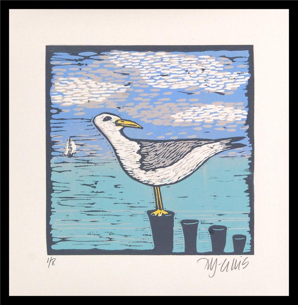 Seagull 2 framed