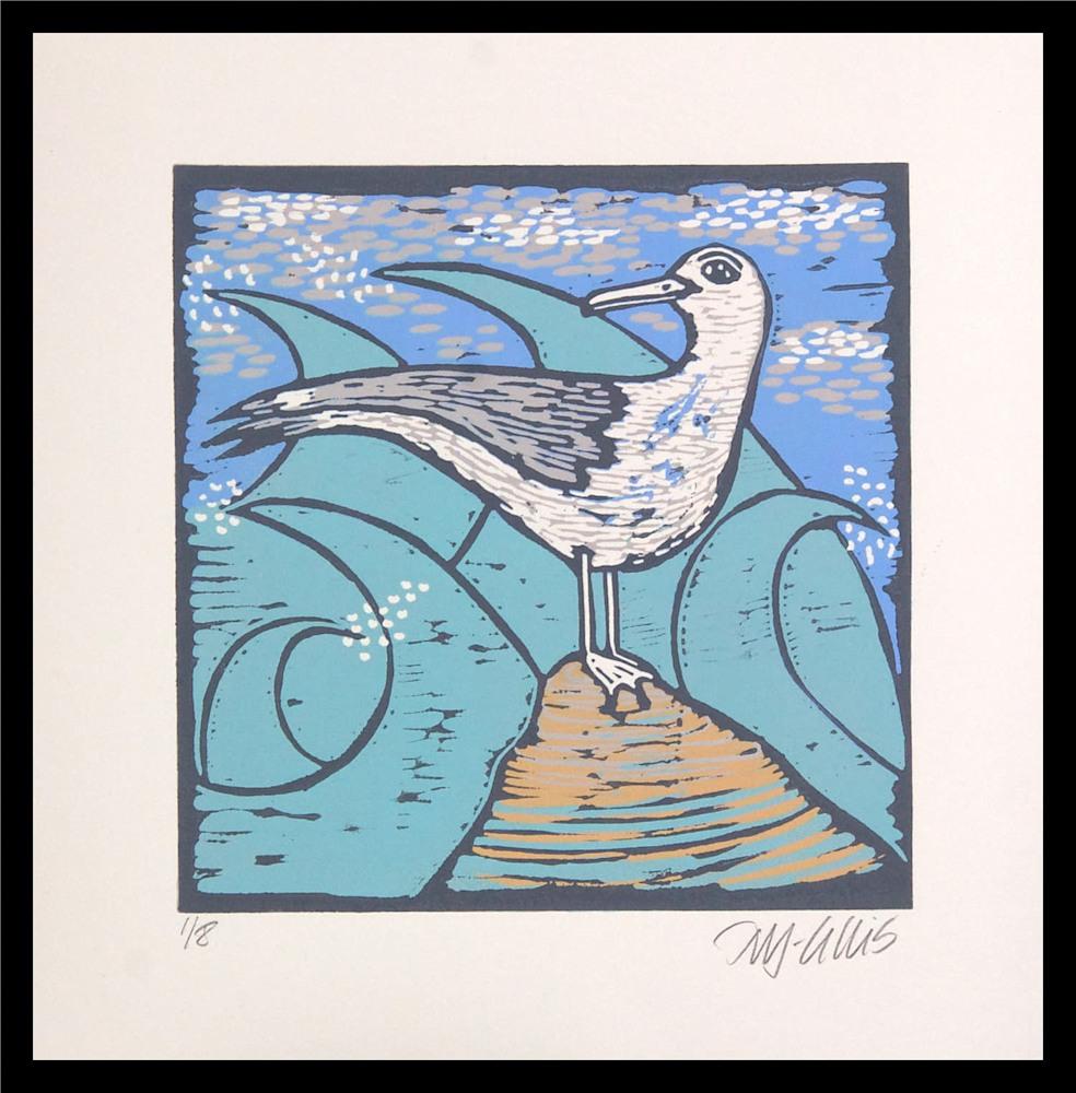 Seagull 3 framed