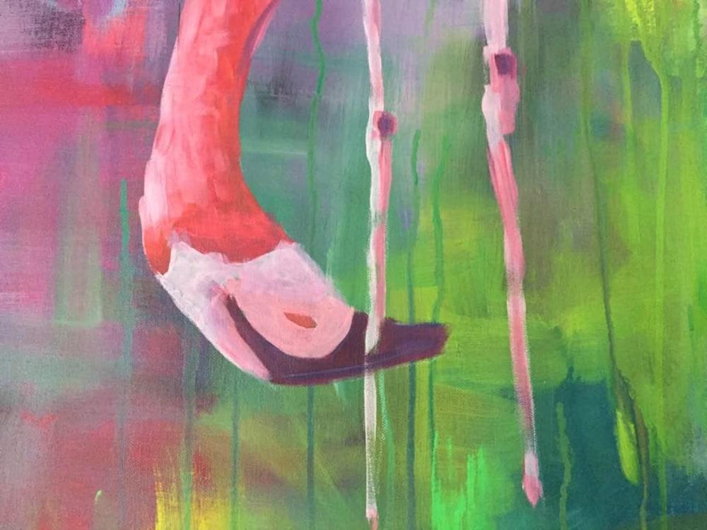 Close up Flamingo 2