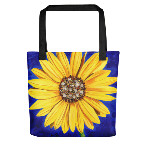 Sunflower 15x15 Tote
