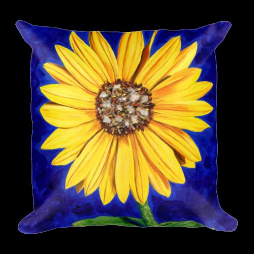 Sunflower Pillow 18x18