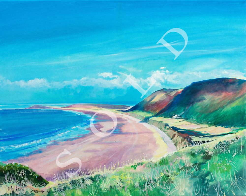 Rhossili Bay & Burry Holms