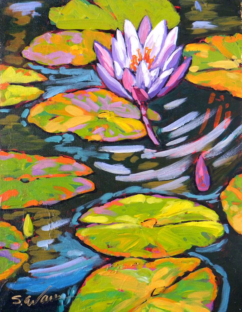 Purple Lily Dances in Light GB