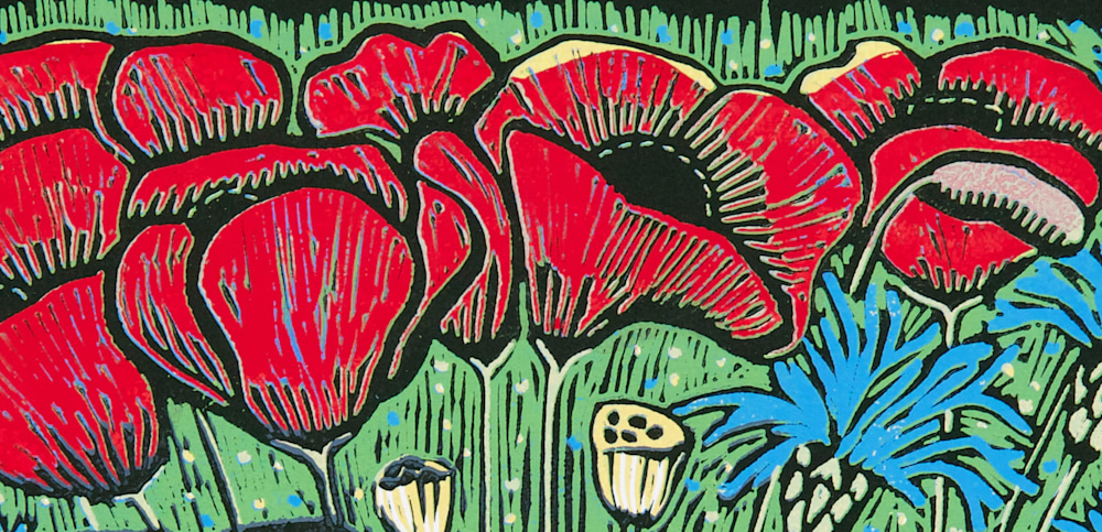 Summer Fields poppies