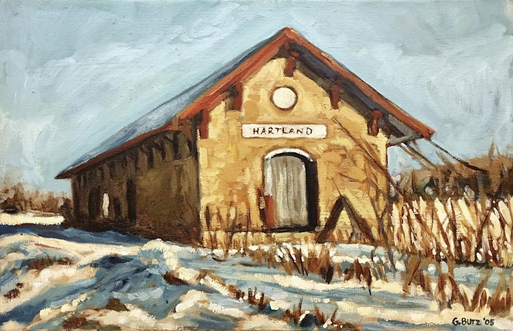 Hartland Depot unframed small